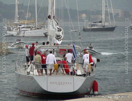 Yacht name: Ana Nefeli Model: Swan 75. Length: 75 ft • 23 m. Year: 2005