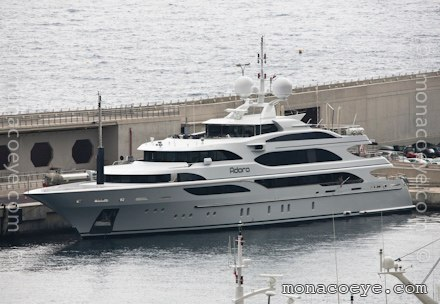 Yacht name: Adora Length: 202 ft • 61 m. Year: 2010. Builder: Benetti • # ...