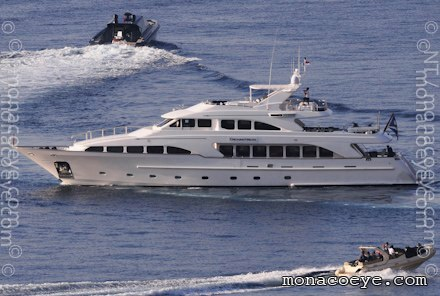 Length: 115 ft • 35 m. Year: 2001. Builder: Benetti • BC010