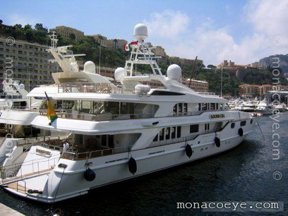 Golden Cell Yacht name: Golden Cell -> Don Pablo Length: 163 ft • 50 m