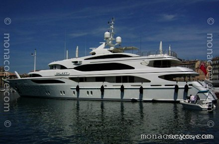Yacht name: Galaxy Length: 183 ft • 56 m. Year: 2005. Builder: Benetti • FB ...