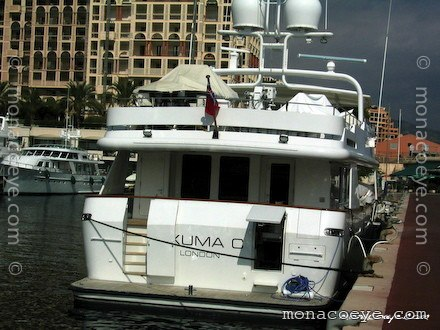 Yacht name: Exuma C -> Criss C Length: 112 ft • 34 m. Year: 1993