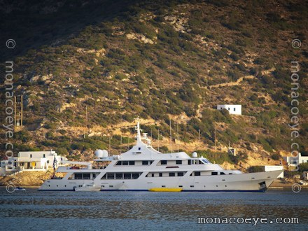 Yacht name: White Knight Formerly: Sociego, Night, White Knight of Araby
