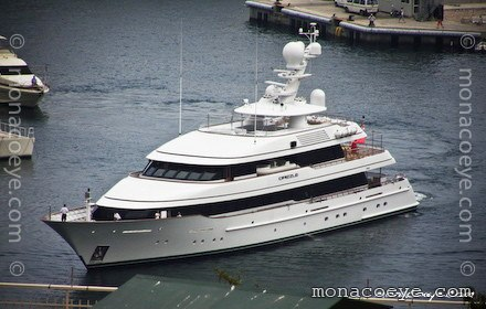 Yacht name: Drizzle Formerly: Twizzle Length: 182 ft • 55 m. Year: 2005