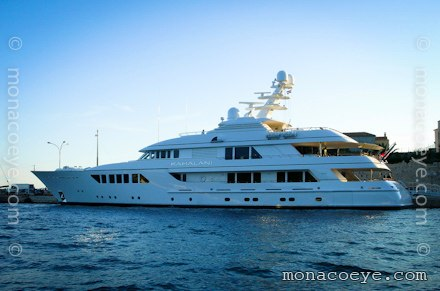 Yacht Name: Kahalani Length: 181 ft • 55 m. Year: 2010