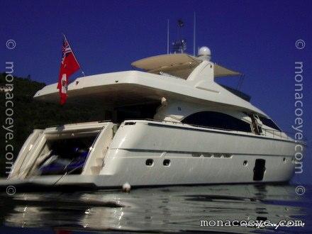 Ferretti 830 Leonessa Yacht name: OH2 -> Leonessa • Ferretti 830