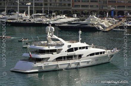 Builder: Benetti Photos: monacoeye • Monaco Yacht Show • 16 September 2007