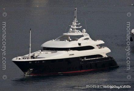 Builder: Lamda Nafs • Golden Yachts Photo: monacoeye • Monaco Yacht Show ...
