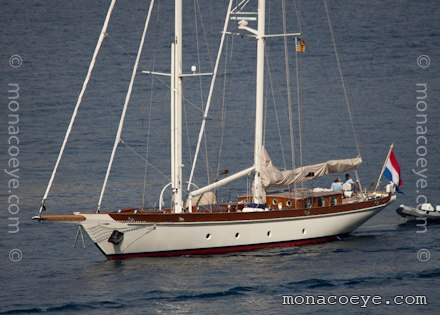 Yacht name: Mandarine VI Length: 92 ft • 28 m. Year: 2000. Builder: Hakvoort