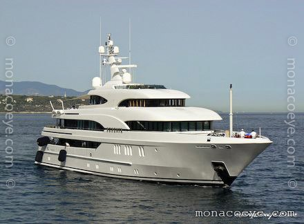 Yacht name: Phoenix -> Aurora Length: 200 ft • 61 m. Year: 2004