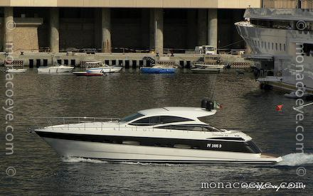 Yacht name: Pershing 56. Length: 59 ft 1 • 18 m. Engines: 2 x 1360 hp