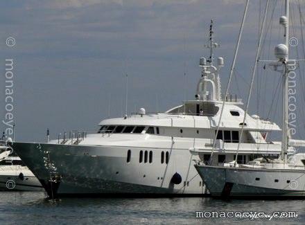 Yacht name: Sahab IV Length: 163 ft 10 • 49.95 m. Year: 1997. Builder: CRN