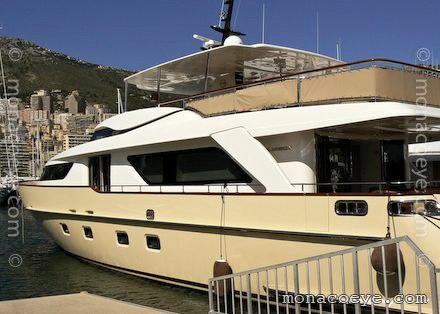 Sanlorenzo SD 92. Yacht name: Coco • SD 92. Length: 27.6 m • 90 ft 6