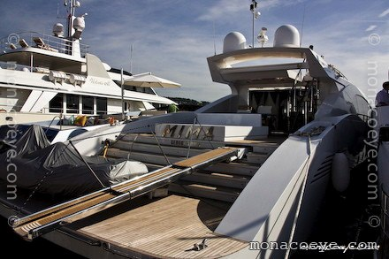 Builder: Shama Yachts Photo: NT • Monaco Yacht Show • September 2008