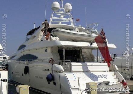 Sunseeker 105 Gossip Yacht name: Gossip Model: Sunseeker 105