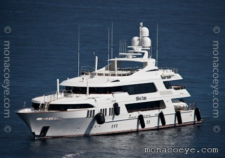 Yacht name: Blind Date Length: 161 ft • 49 m. Year: 2009