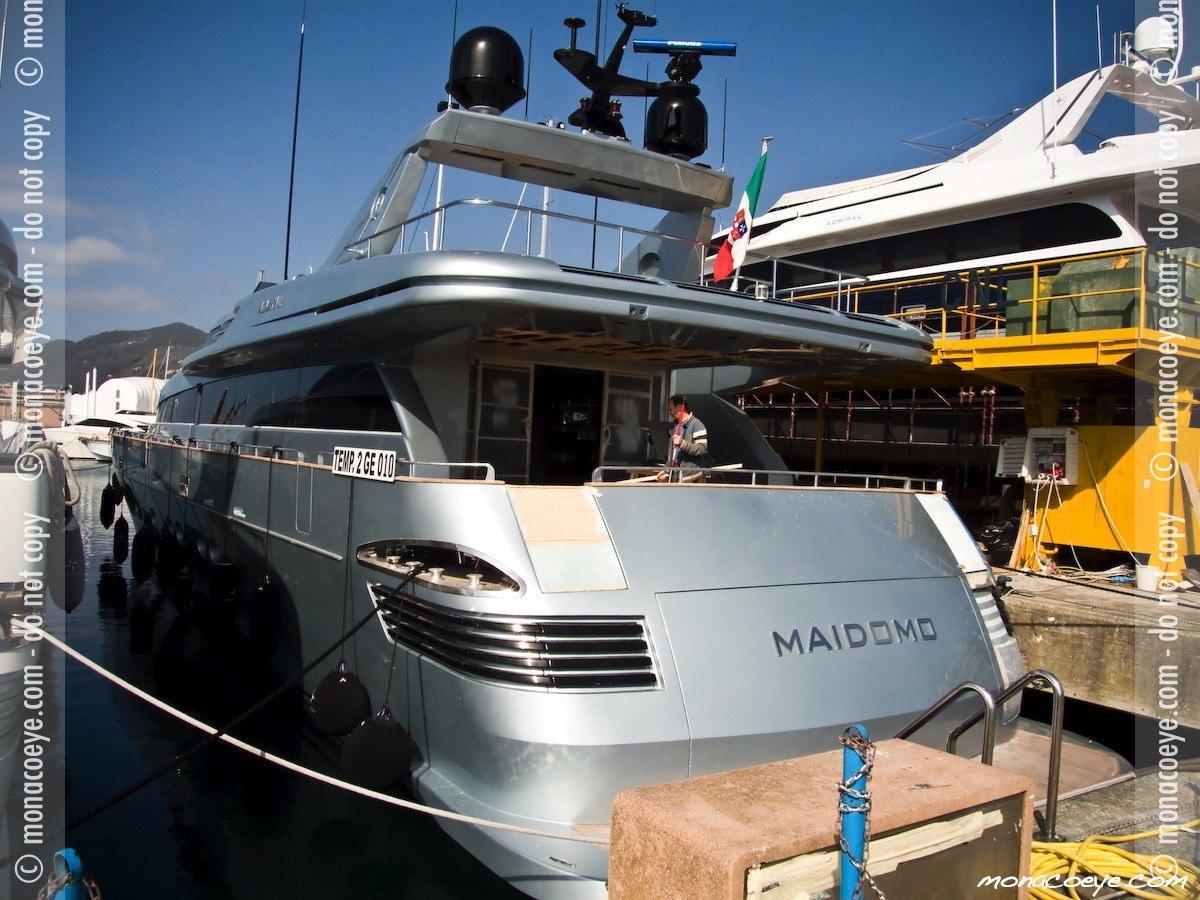 Maidomo, yacht