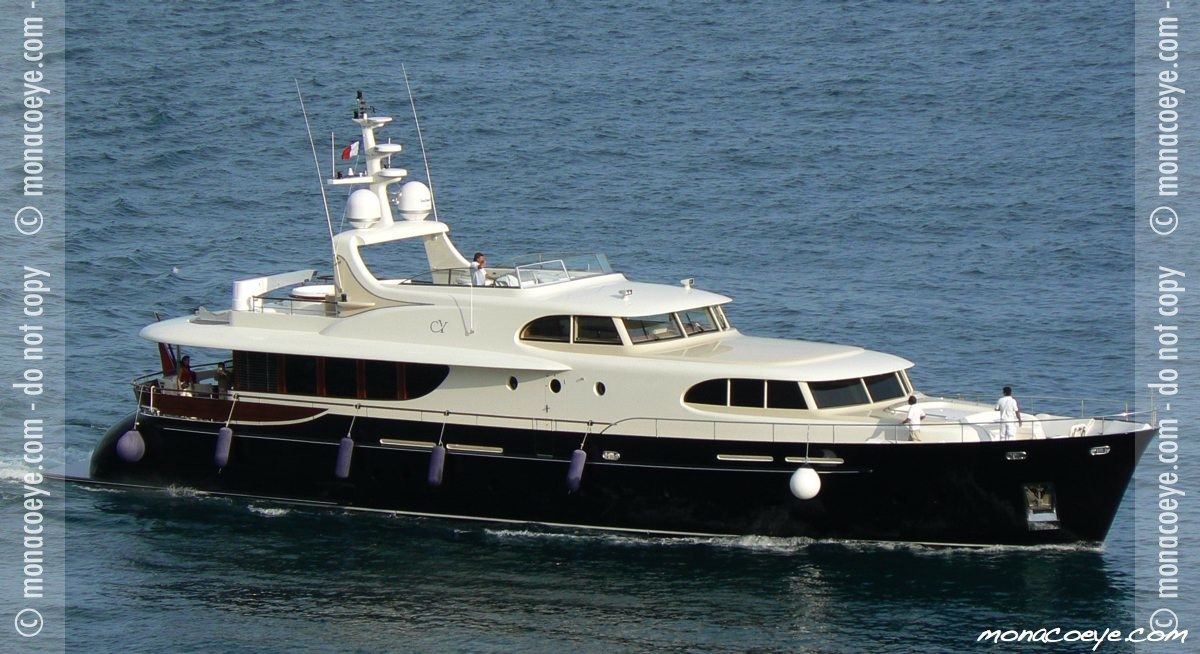 Monaco Yacht Show 2006 - Angel of Joy