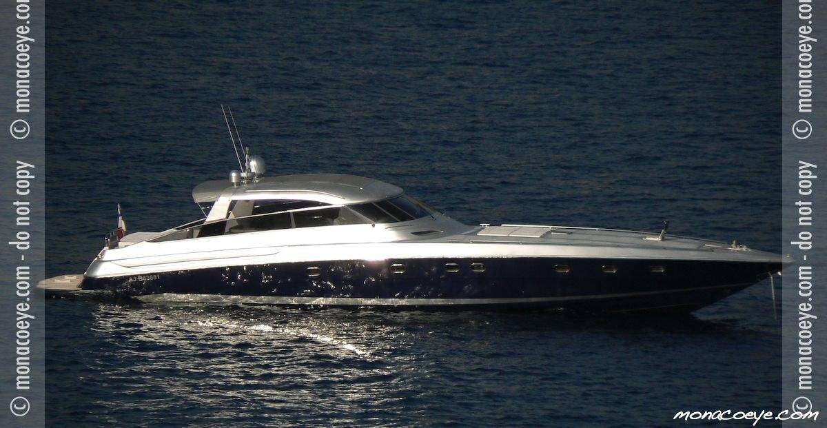 Yacht name: Baia Panther 80. Photo: monacoeye • Monaco Yacht Show • 19-22 ...