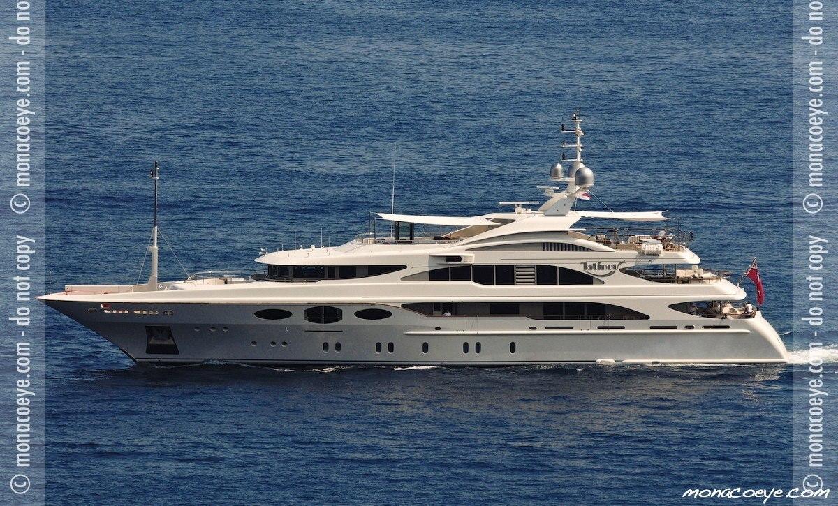 Latinou, yacht