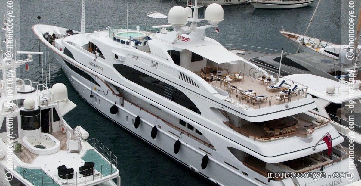 Meamina, yacht
