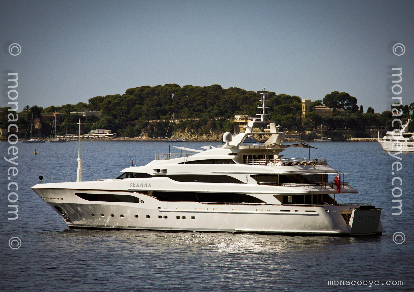 Seanna, 2011 design from Benetti Yachts and Redman Whitely Dixon