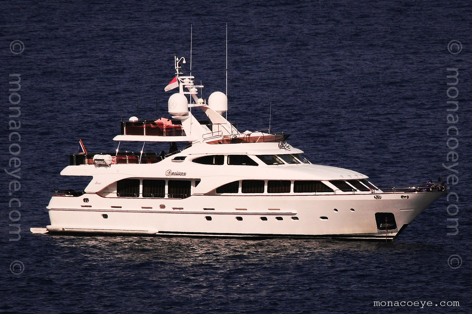 Renaissance. 110 foot yacht in the Benetti Tradition series