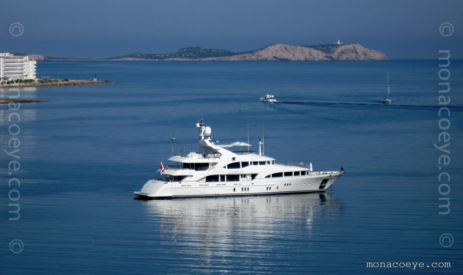 Harmony III. Eighth in the 145 foot Benetti Vision series