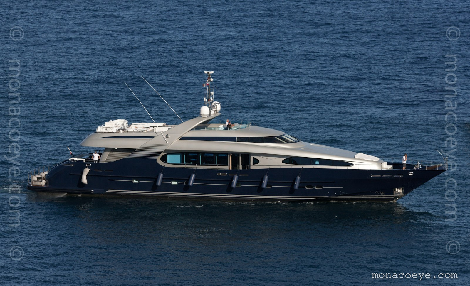 Mamba yacht. Built by BPT Trade, 2009, 39 metres, designed by Mulder Design