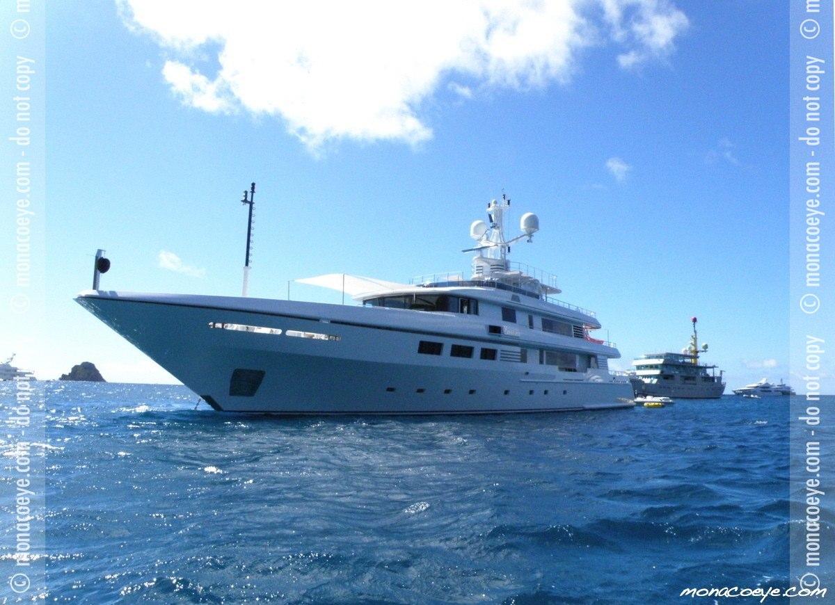 Emelina, yacht