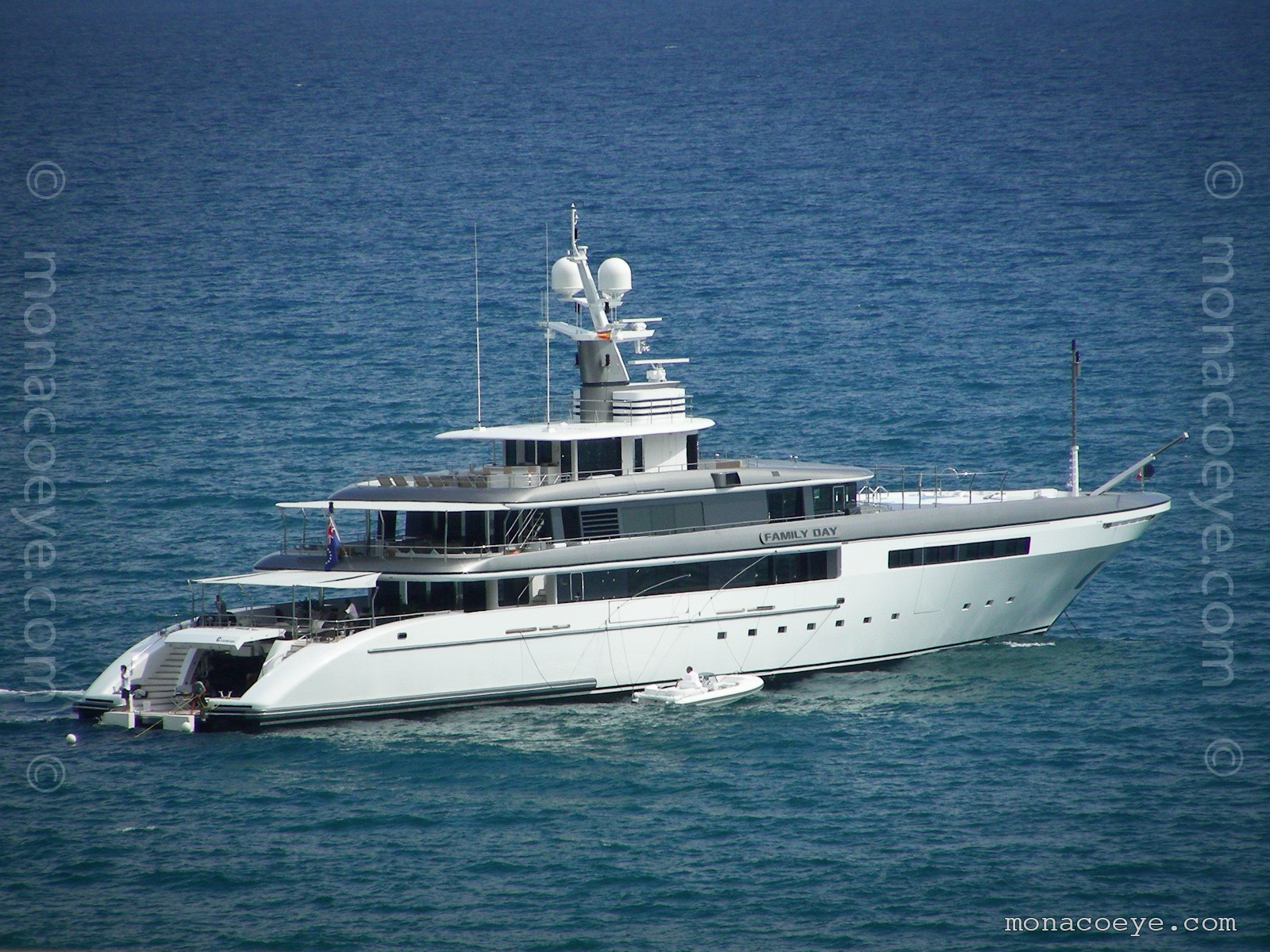 Family Day yacht. Built by Codecasa Yachts, 2010, 65 metres