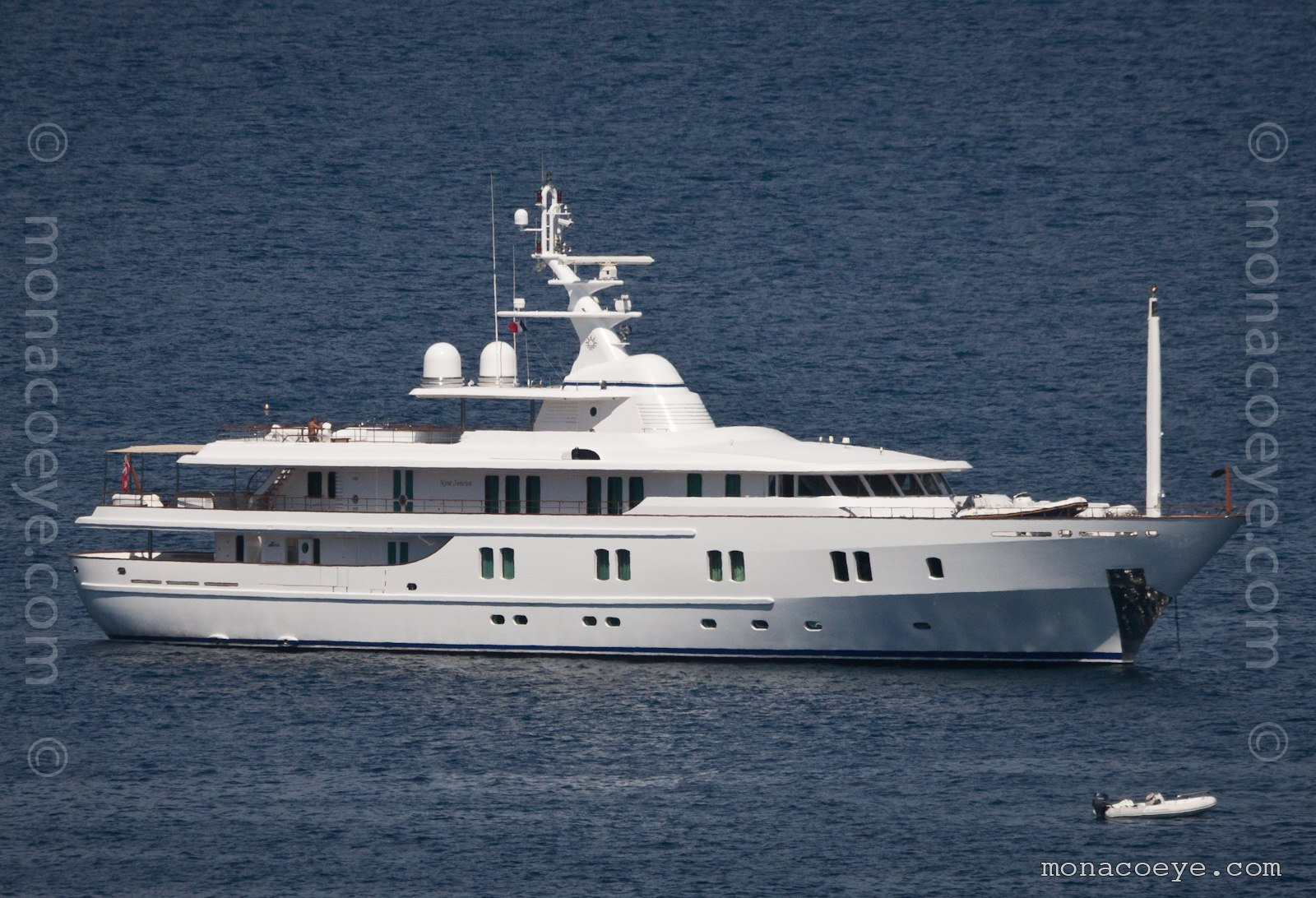 New Sunrise yacht. Built by CRN #113, 2000, 61 metres, naval architecture by Studio Scanu