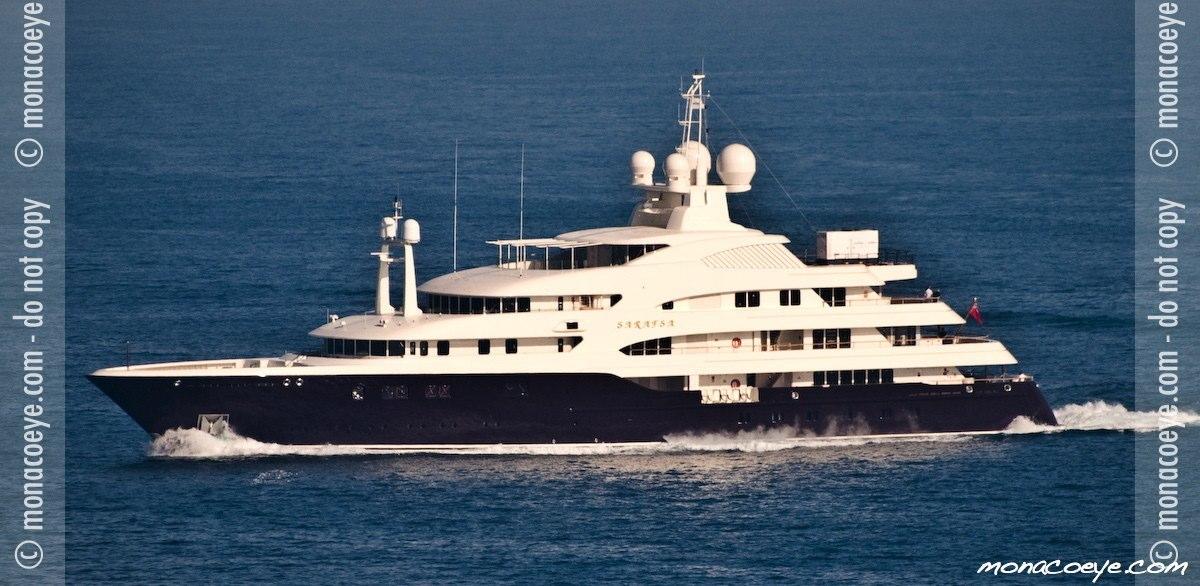 Sarafsa, yacht