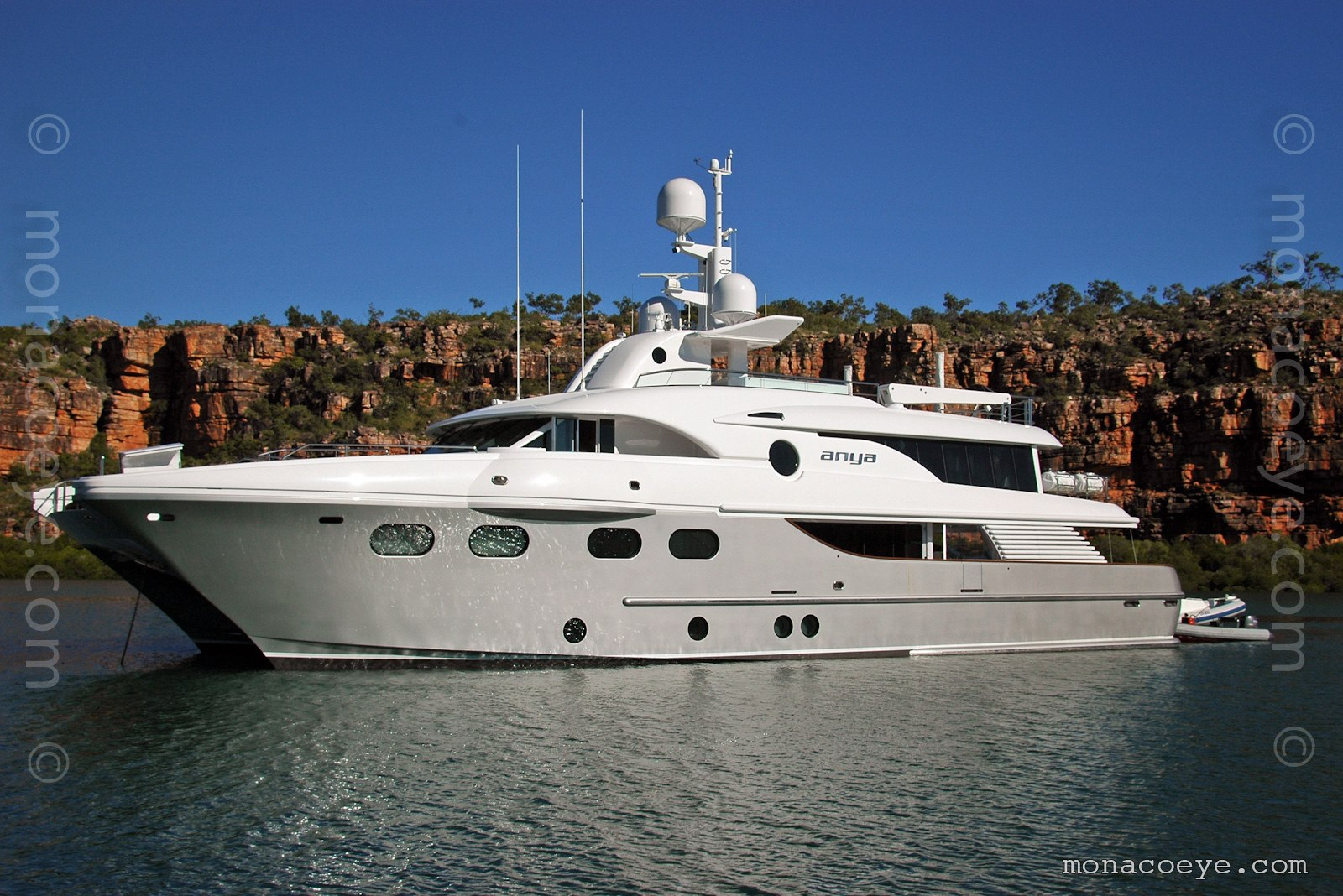Anya yacht. Built by Evolution Yachts, 2009, 35 metre catamaran
