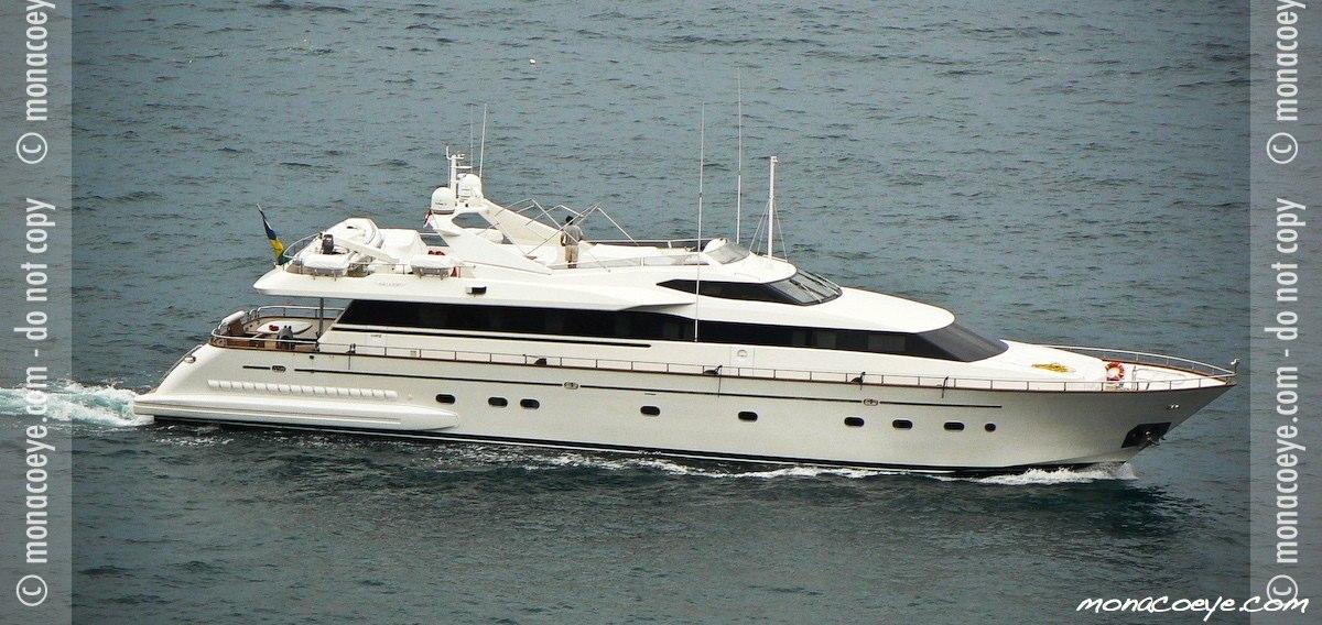 Falcon 100 Monte Carlo, yacht