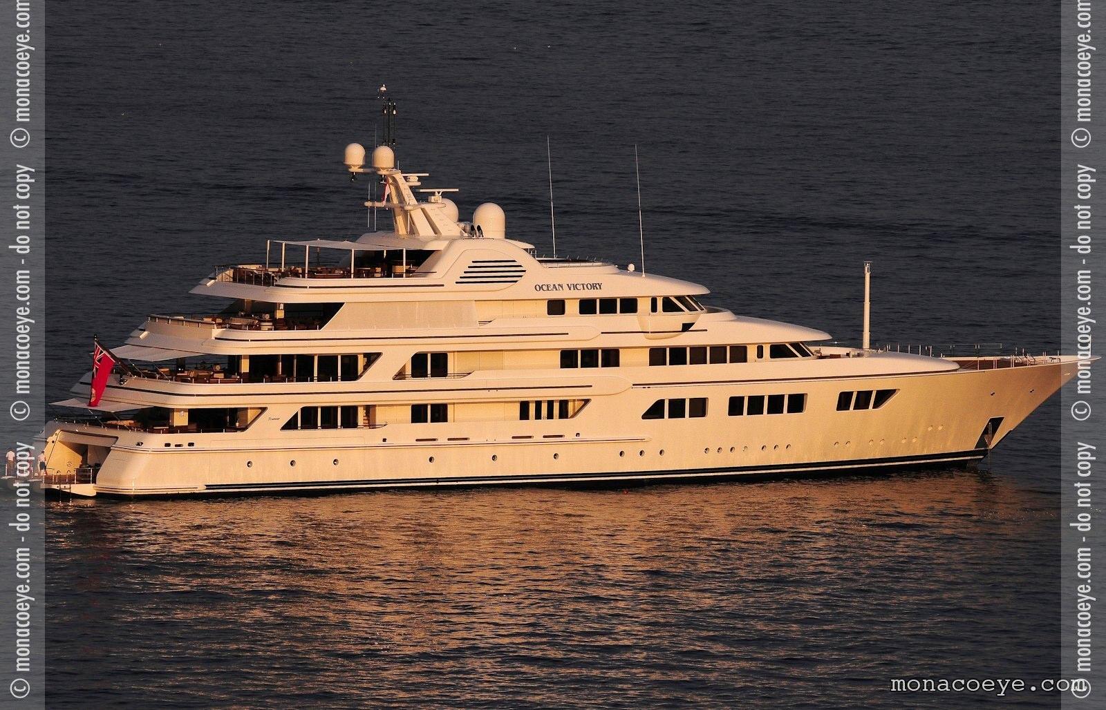 Ocean Victory, yacht