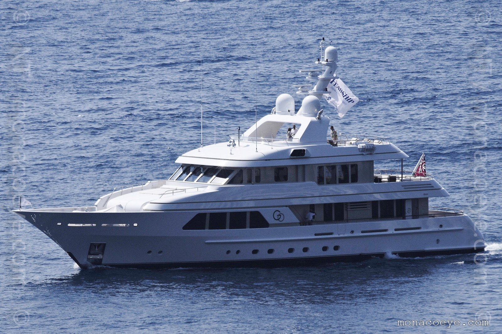 Go yacht. Built by Feadship, delivered in 2010, 39 metres, build number 678