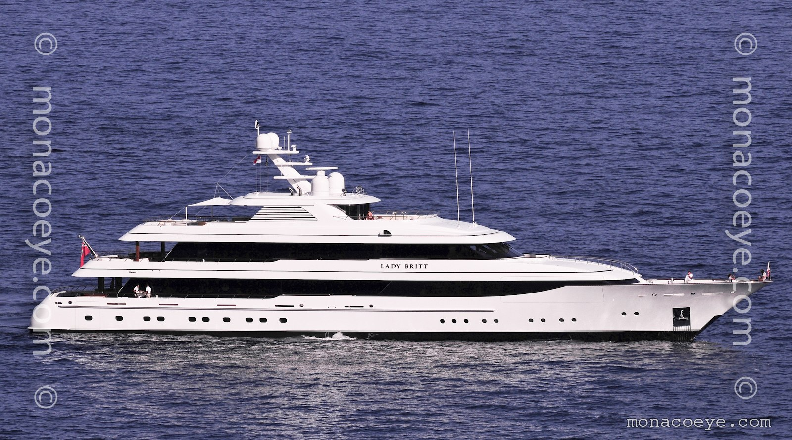 Lady Britt, 2011 design from Feadship. New launch.