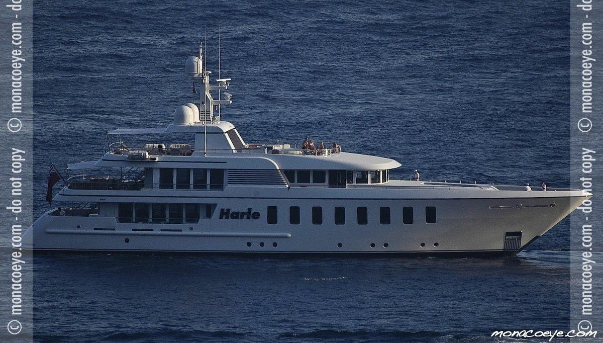 Harle, yacht