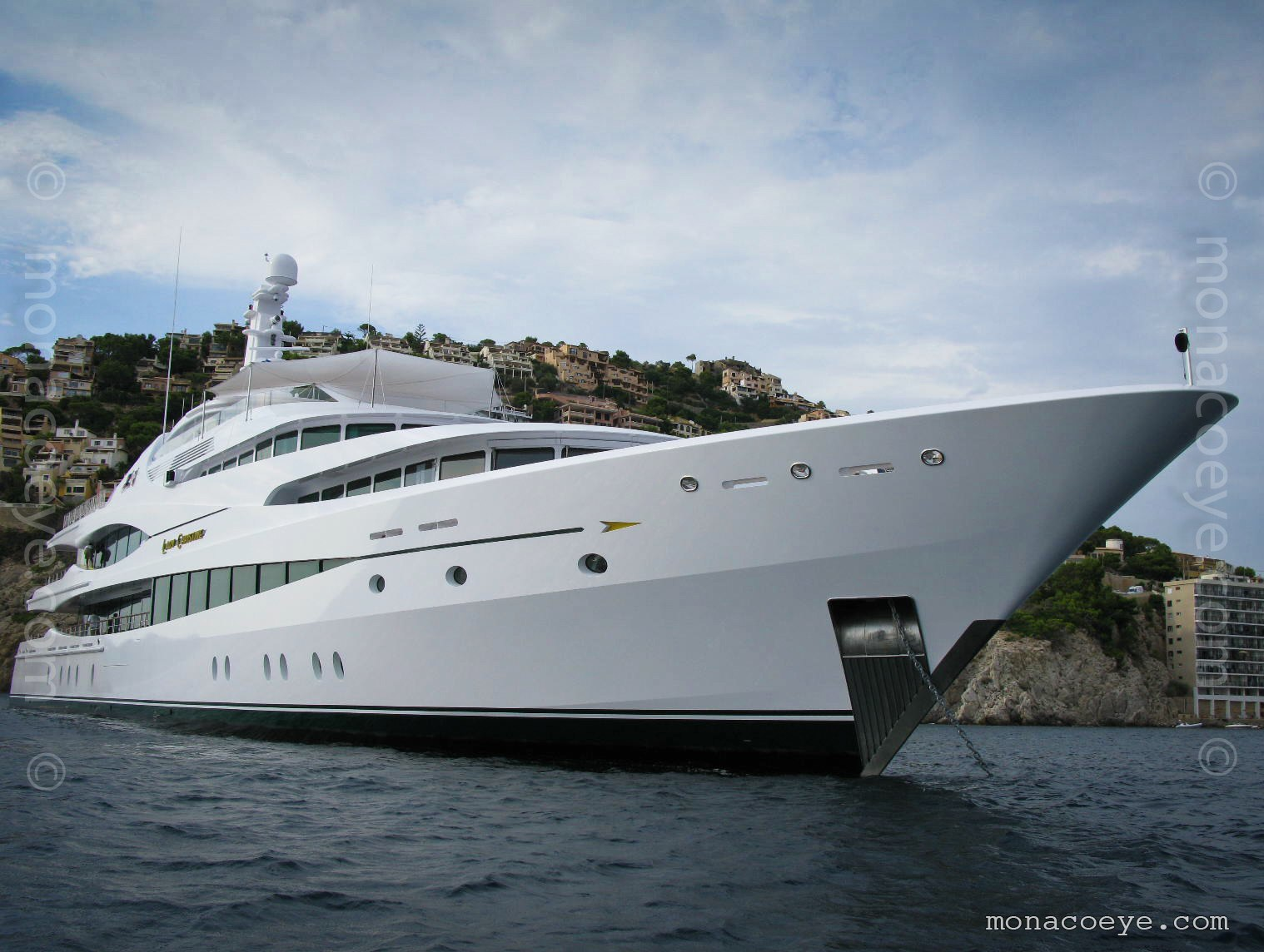 Lady Christine yacht. Built by Feadship, delivered in 2010, 68 metres, build number 801