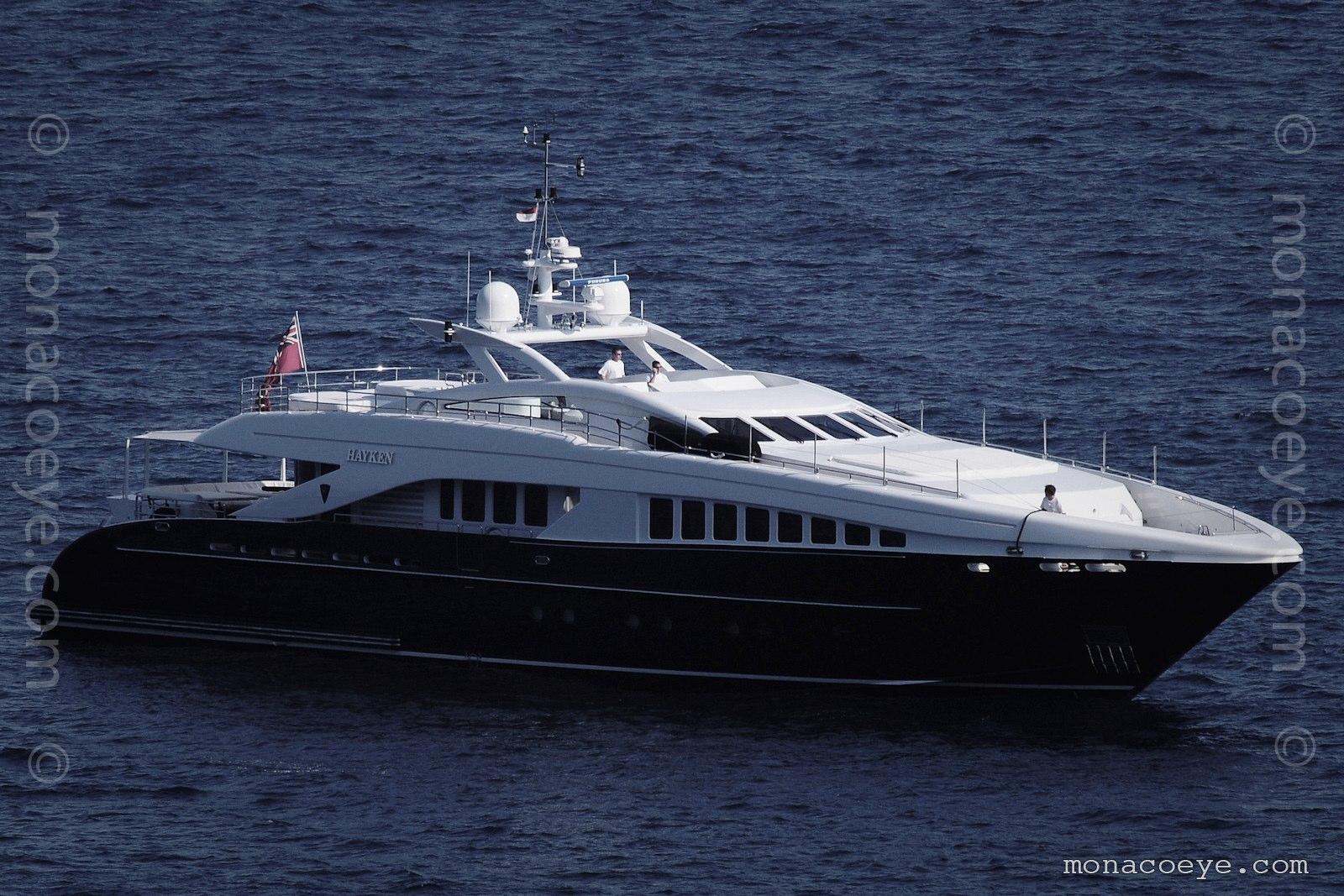 Hayken, yacht from Heesen. Build number 12337, 2005, 37 metres. Ex Seascape