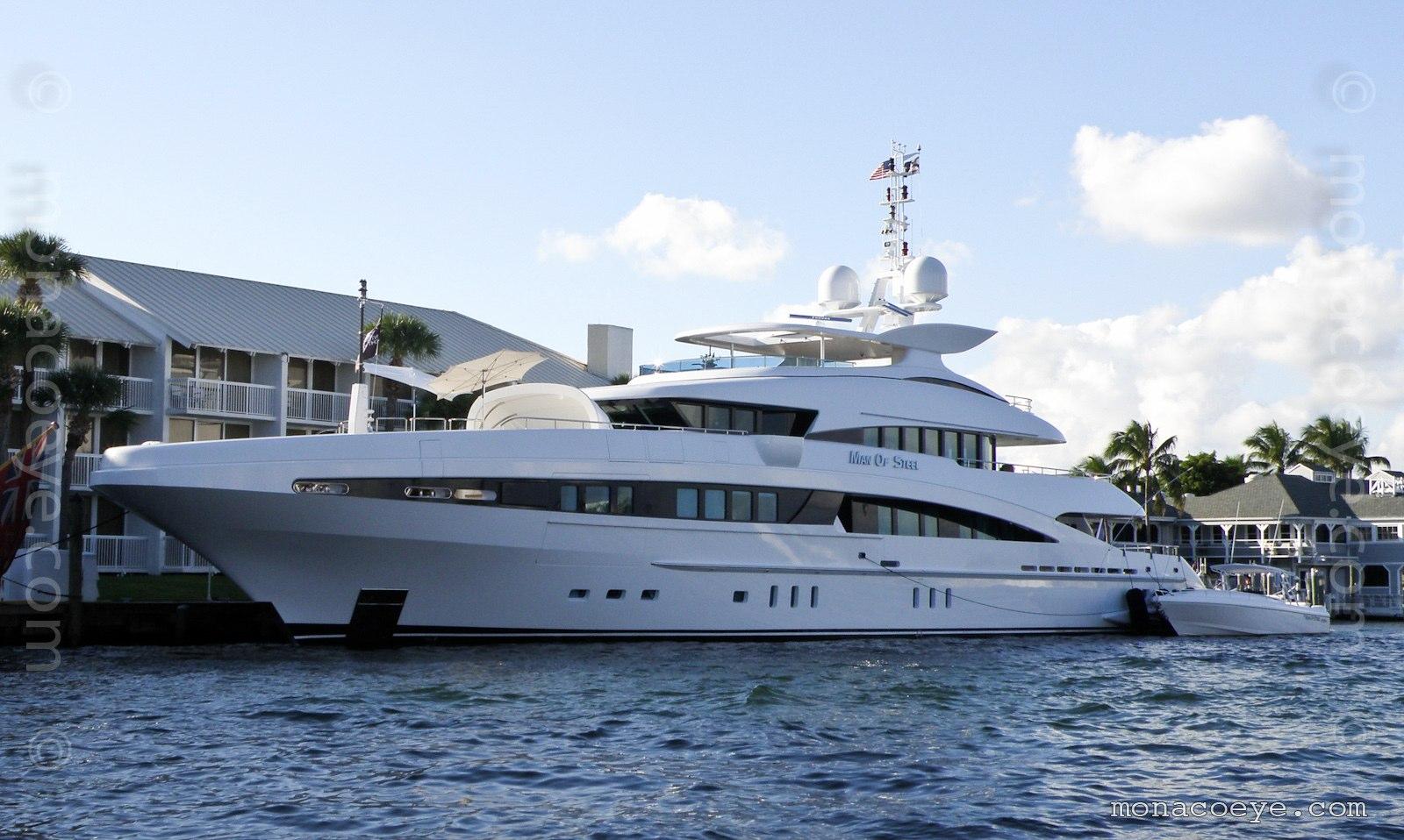 Man of Steel, yacht from Heesen. Build number 13750, 2008, 50 metres