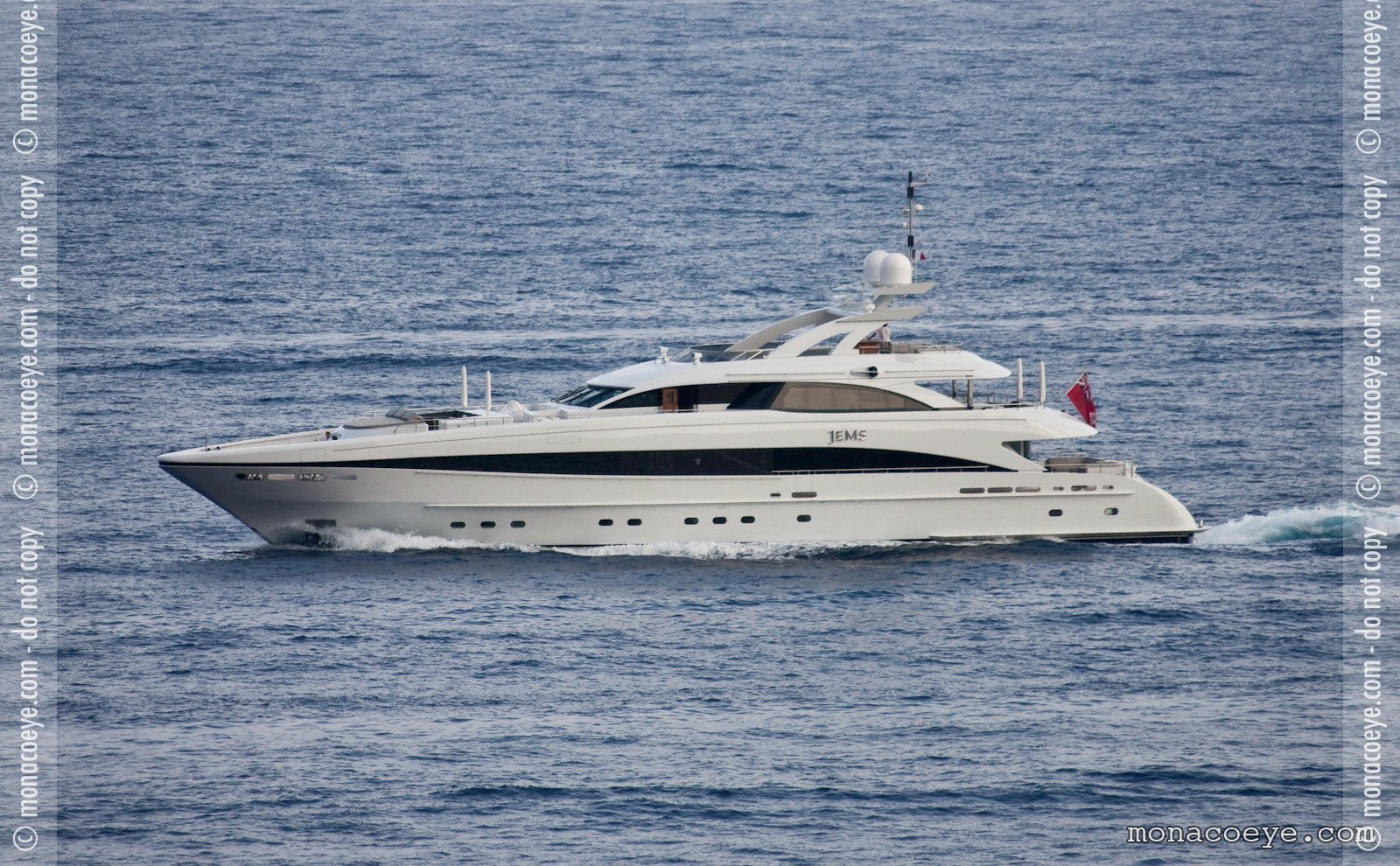 Jems, yacht from Heesen. Build number 14444, 2009, 44 metres