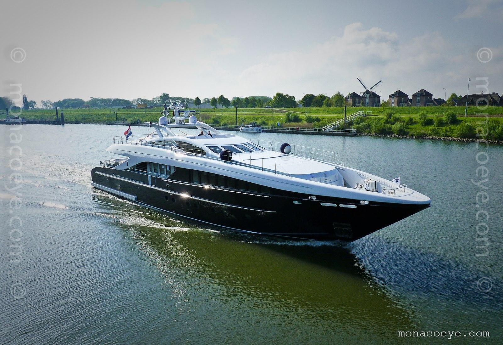 Willpower, new yacht from Heesen. Build number 14537, 2009, 37 metres