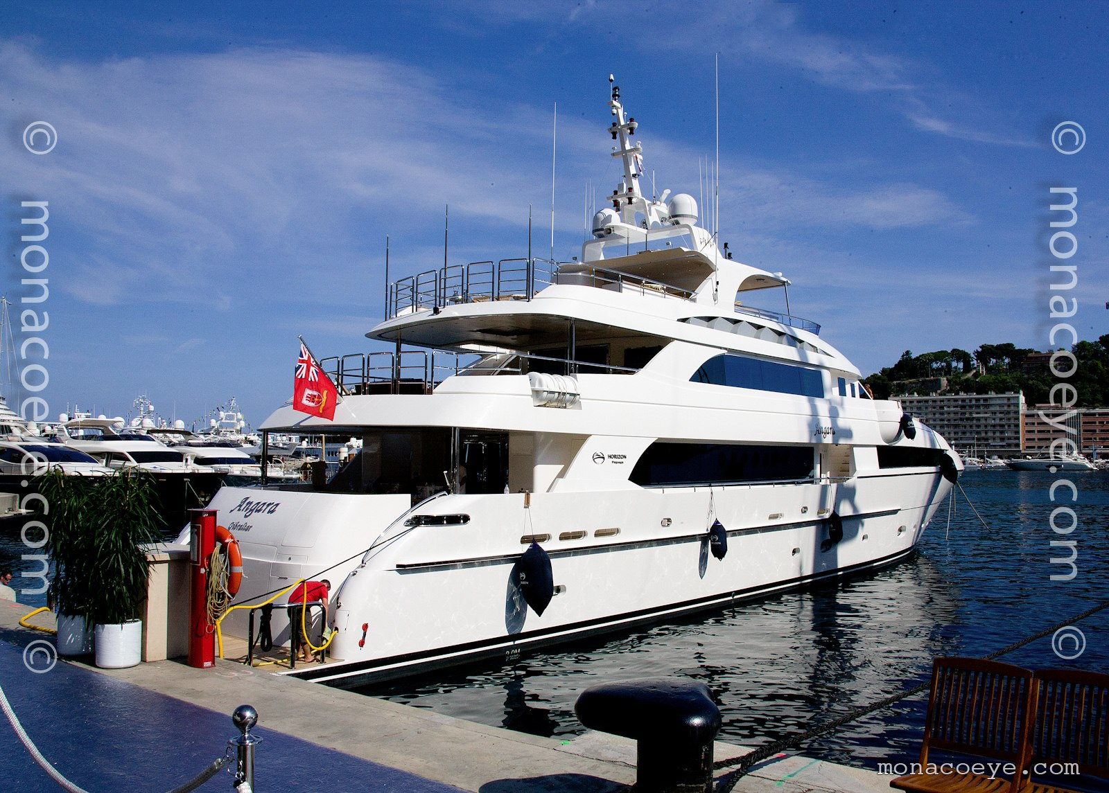 Angara, 2011 design from Horizon Yachts, Greg Marshall and Espinosa Design
