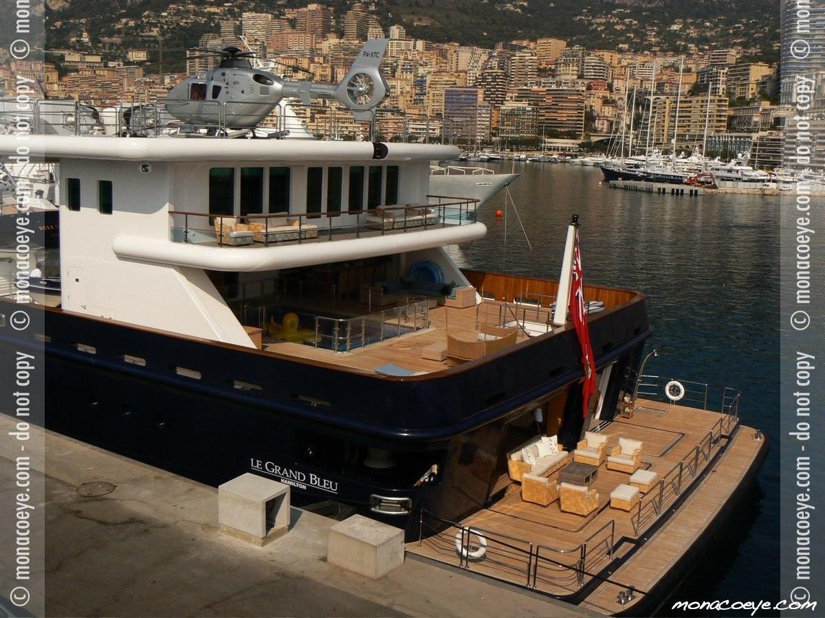 Le Grand Bleu Roman Abramovich's largest yacht