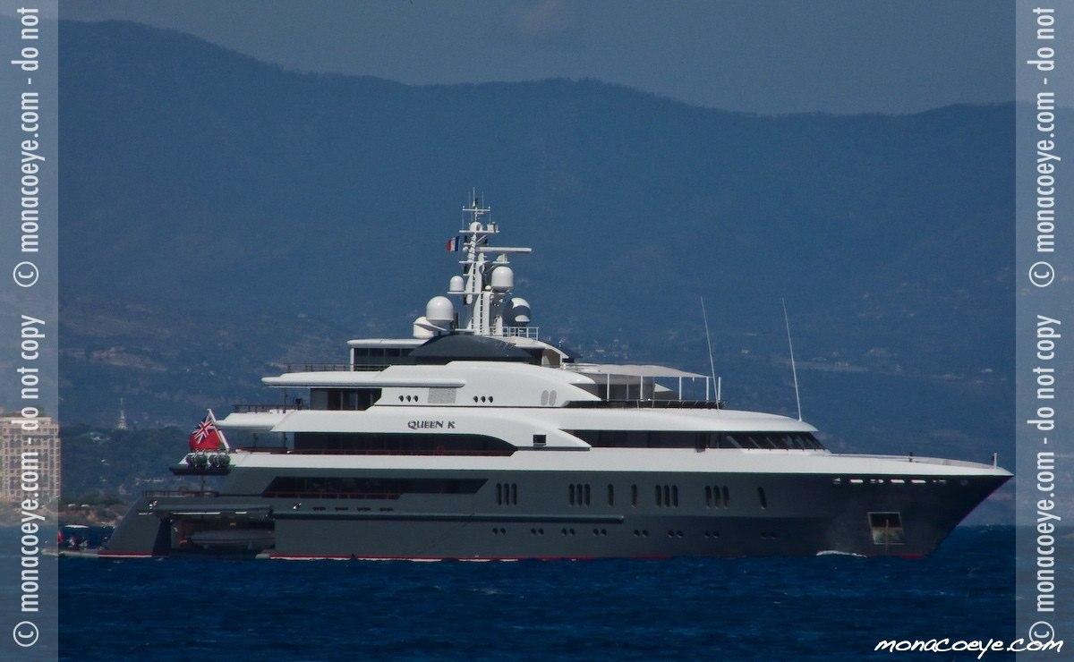 Queen K, yacht