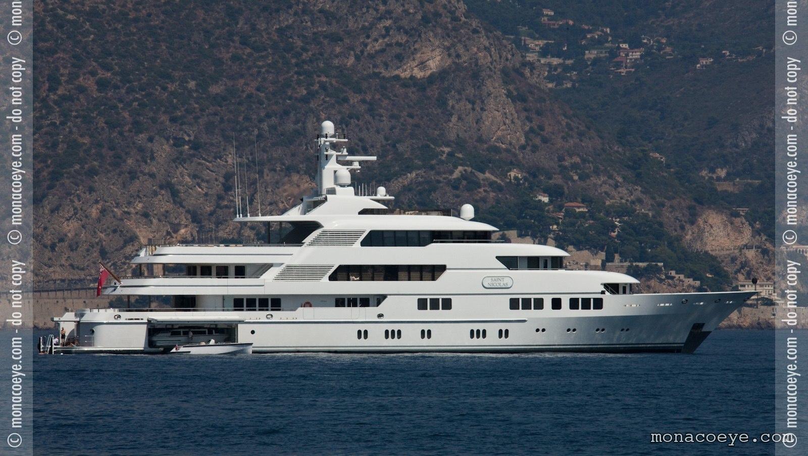 Saint Nicolas, yacht