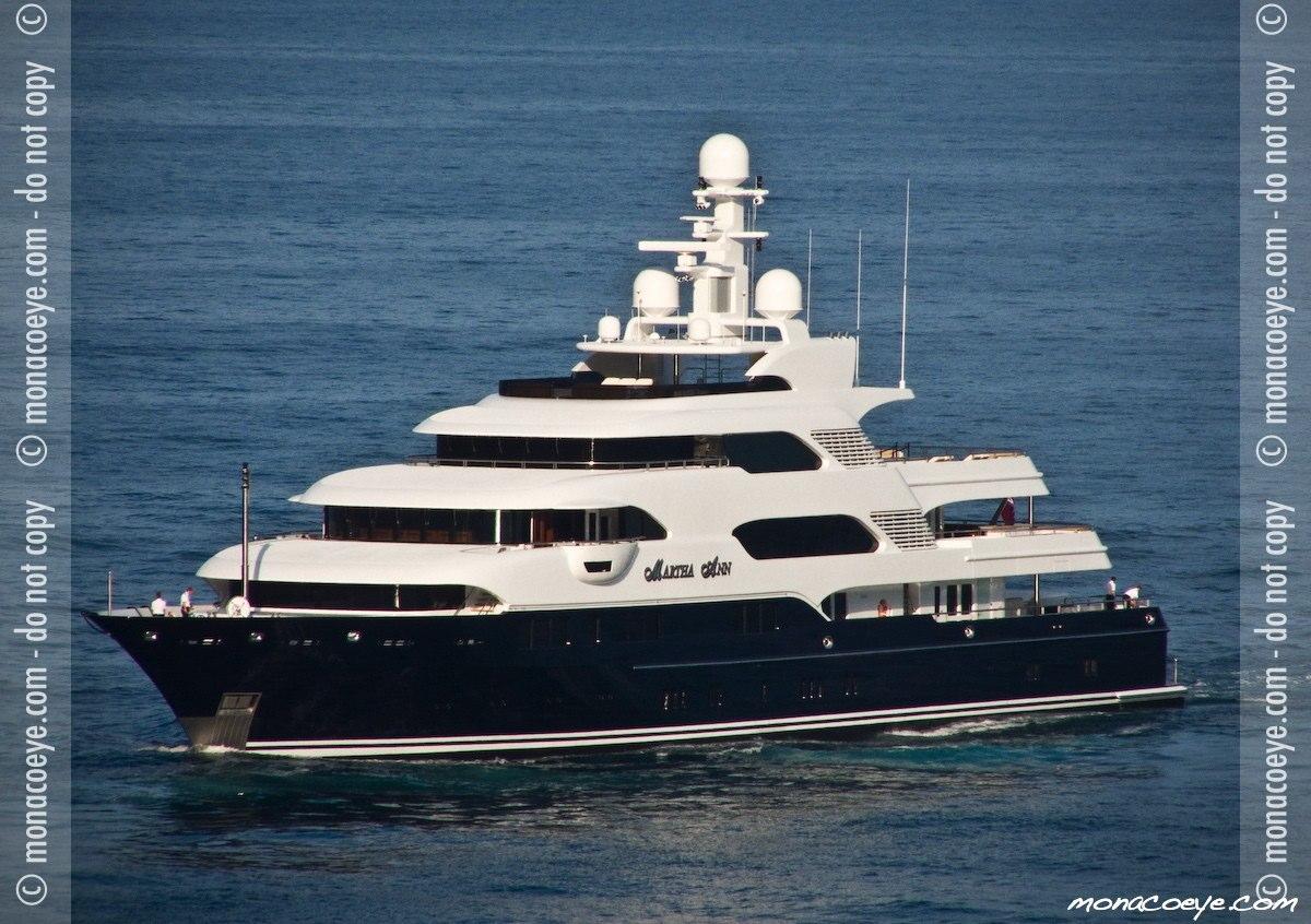 Martha Ann, yacht