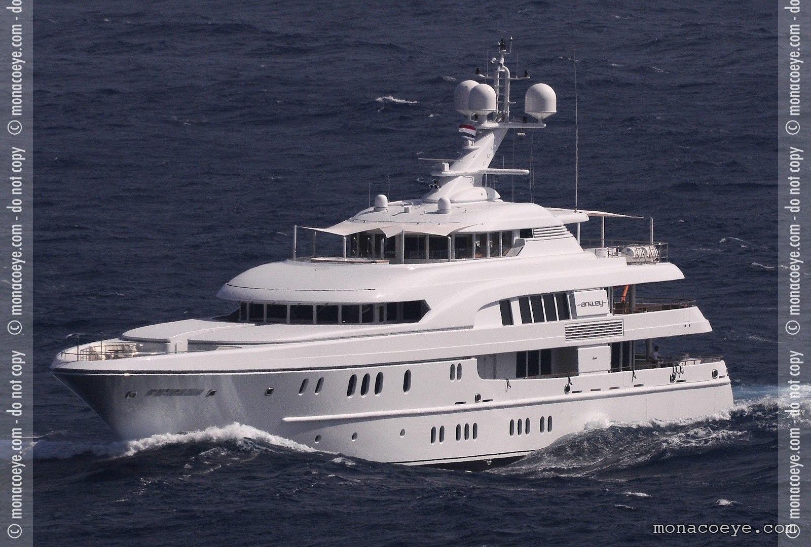 Arkley, yacht